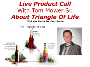 Tom Mower About Triangle Of Life